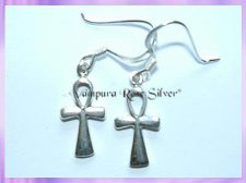 CP10-5 Ankh Earrings (Small)