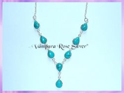 SGN3 Teardrop Turquoise Necklace