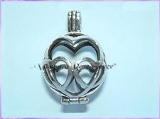 CP16-29 Heart Tumblestone Case/Locket - VRS