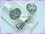PSP Pentagram Wax Seal Pendant