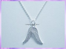 AWP1ND Angel Wings Necklace - Double Sided - VRS