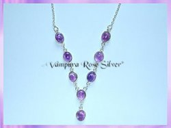 SGN2 Oval Amethyst Necklace