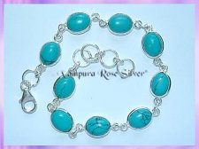 SGN2B Oval Turquoise Bracelet