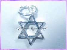 CHA47 Star of David Charm - VRS