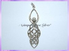 CGP Celtic Goddess Pendant