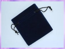 P34 Velvet Drawstring Bangle Pouches (pk 6)