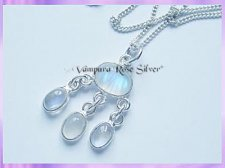 NO1 Rainbow Moonstone Necklace - VRS