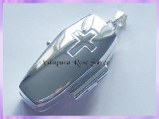 CLP Coffin Locket Pendant
