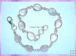 SGN3B Teardrop Rose Quartz Bracelet