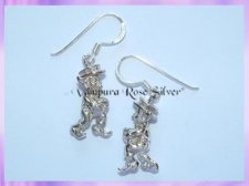 CHA11E Leprechaun Earrings