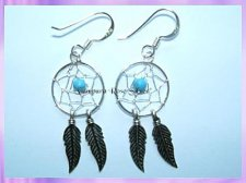 10-125e Dreamcatcher Earrings
