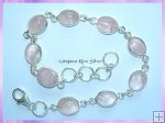 SGN2B Oval Rose Quartz Bracelet
