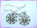 CHA68E Spider Web Earrings - VRS