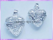 CP17-3 Filigree Heart Locket Pendant - VRS