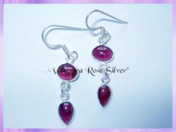 ER2 Garnet Earrings