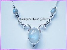 N4 Rainbow Moonstone Necklace - VRS