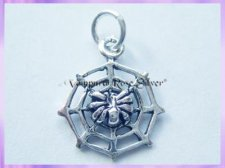 CHA68 Spider and Web Charm - VRS