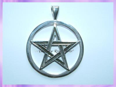CP24-23 Pentagram Pendant (Lge) - VRS - Click Image to Close